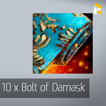 10 x Bolt of Damask - Guild Wars 2 EU & US All Servers - fast & safe