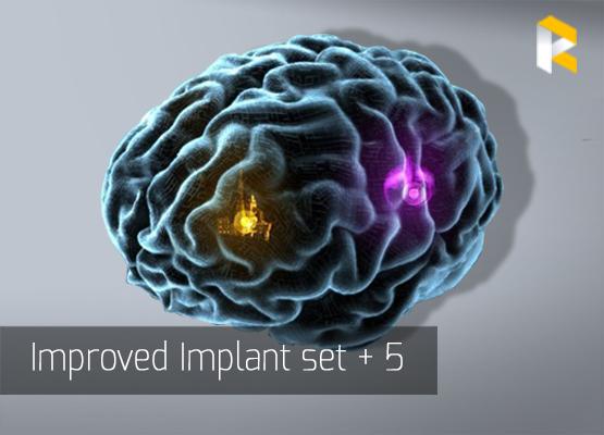 Improved Implant set + 5 - fast & safe
