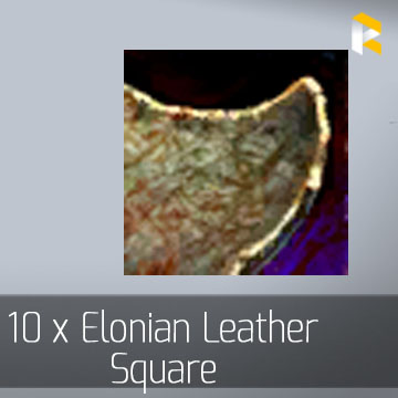 10 x Elonian Leather Square - Guild Wars 2 EU & US All Servers - fast & safe