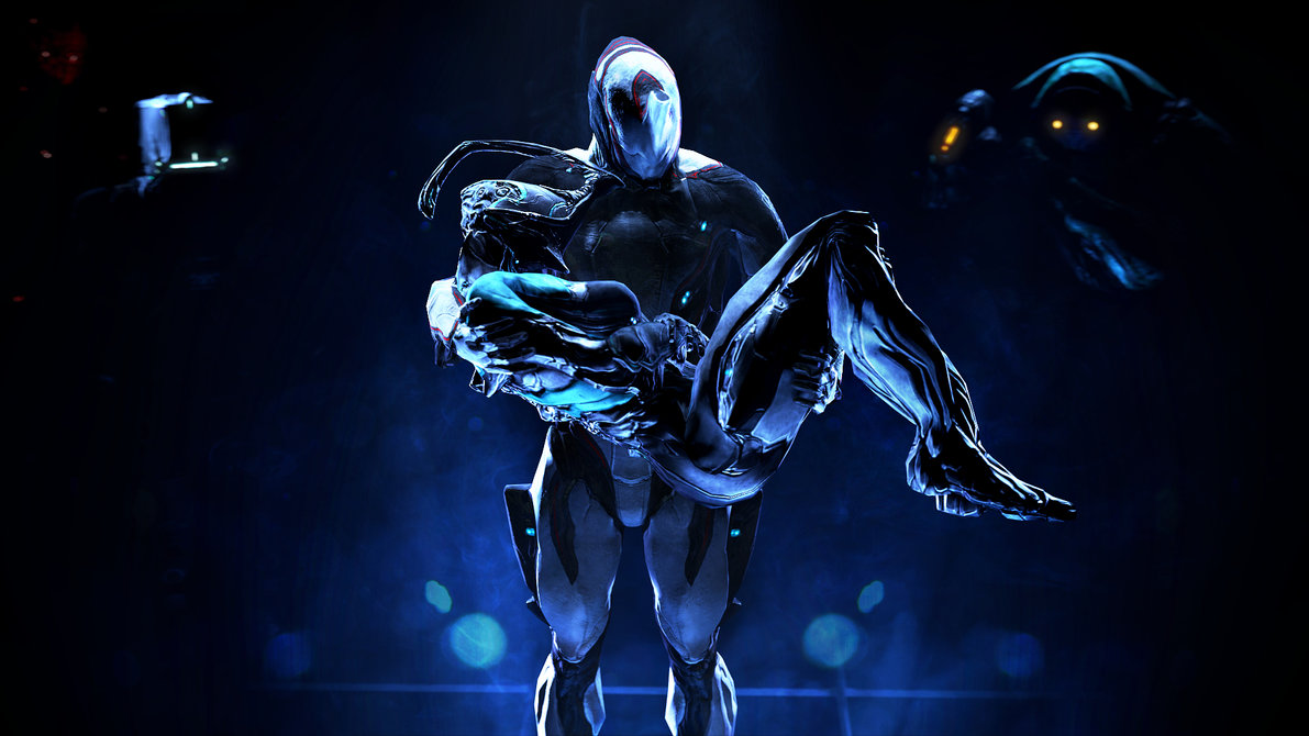 Warframe from shop + slot + reactor,gift from ingame magazine