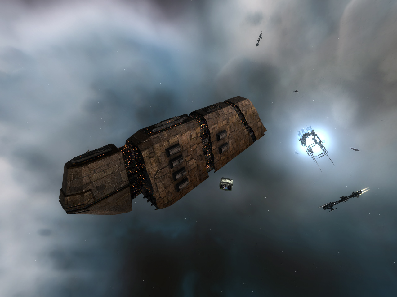 Freighter  - one to choose  - Providence, Charon, Obelisk, Fenrir