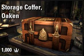 Storage Coffer, Oaken [EU-PC]