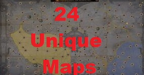 [Harvest hardcore] ALL Unique Maps x 24 Pack  // Fast delivery