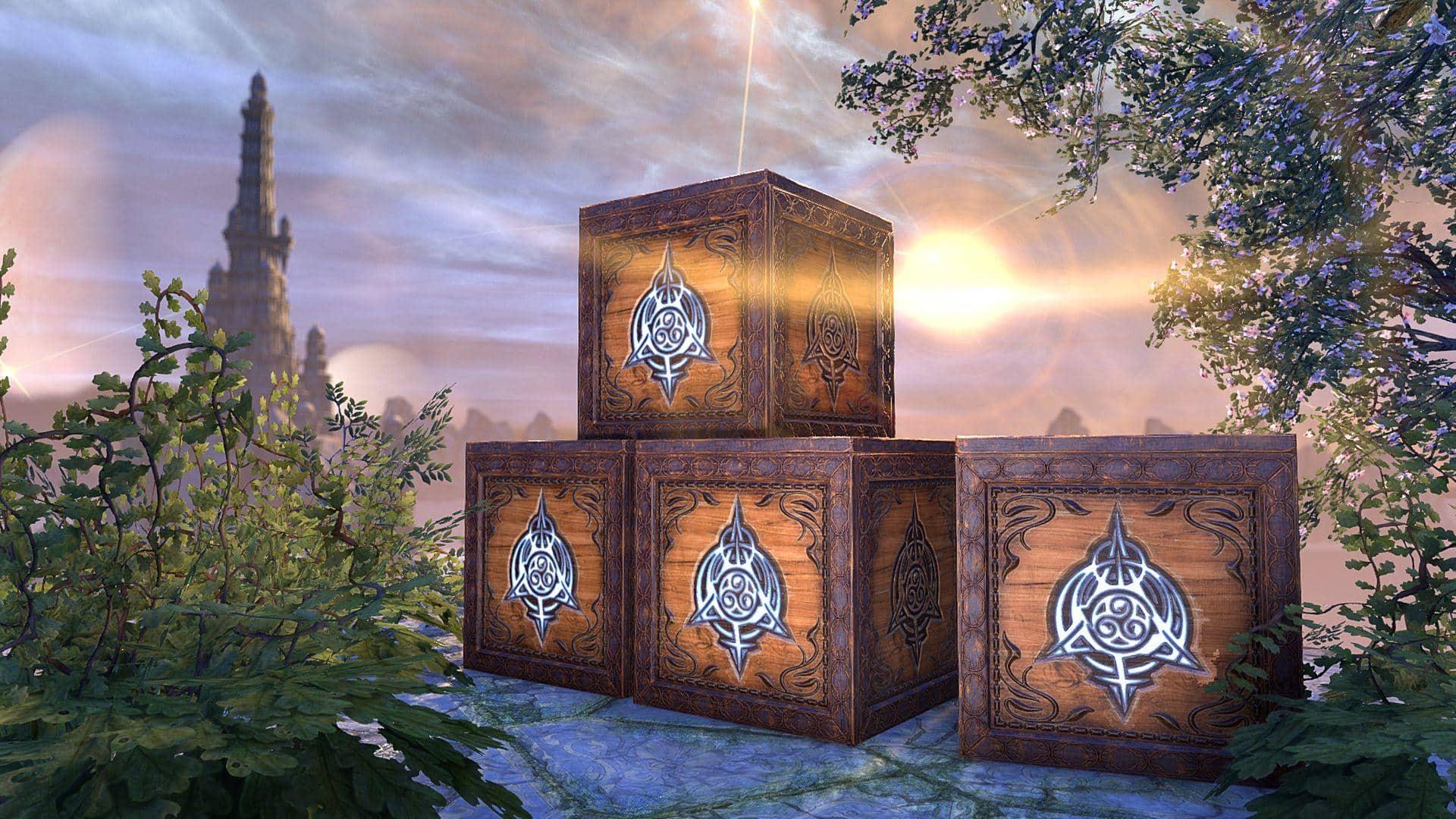 15x Psijic Vault Crates [Crown Item]
