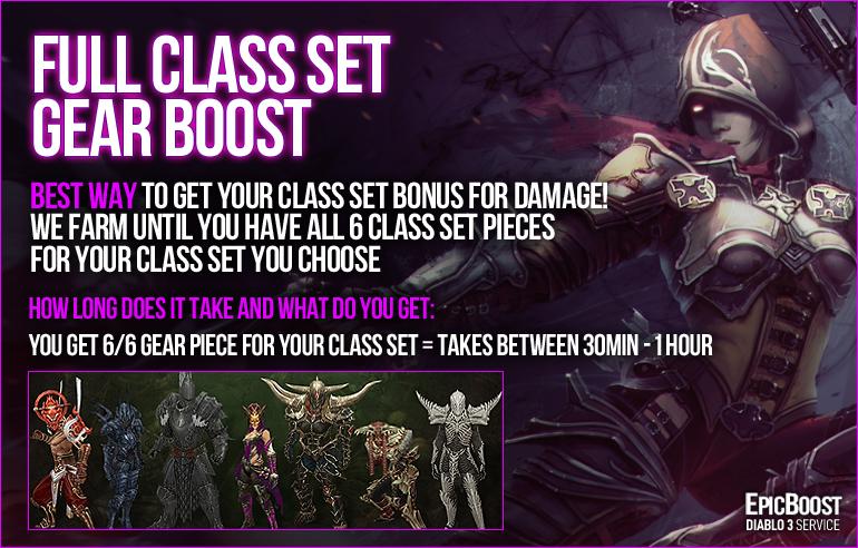 EpicBoost ✅US / EU✅ Full Class Set BOOST 6/6 PIECES = $13 ✅ 100% POSITIVE FEEDBACK