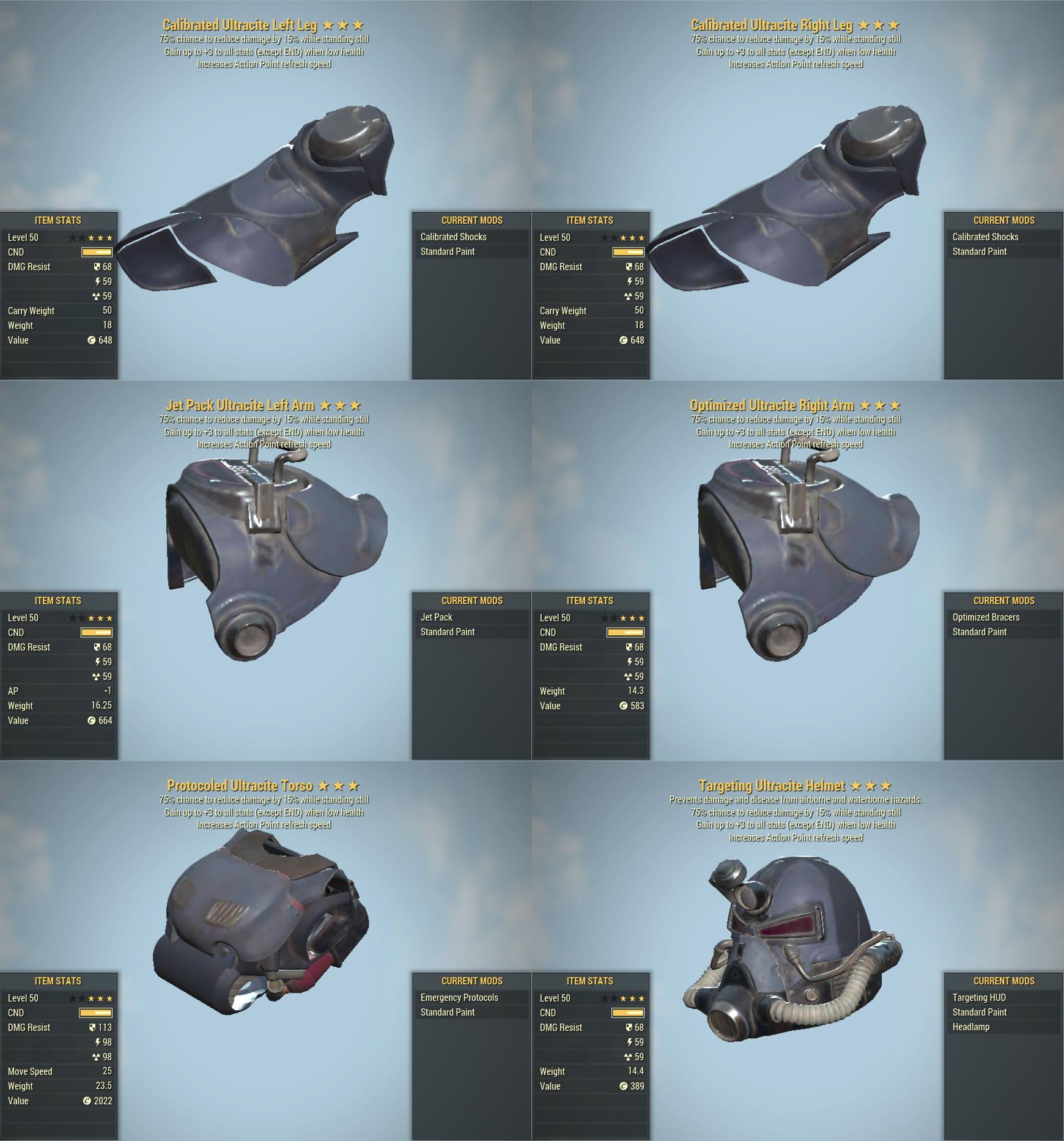 [Unyielding Sentinel 6 AP REFRESH] Ultracite PA Set