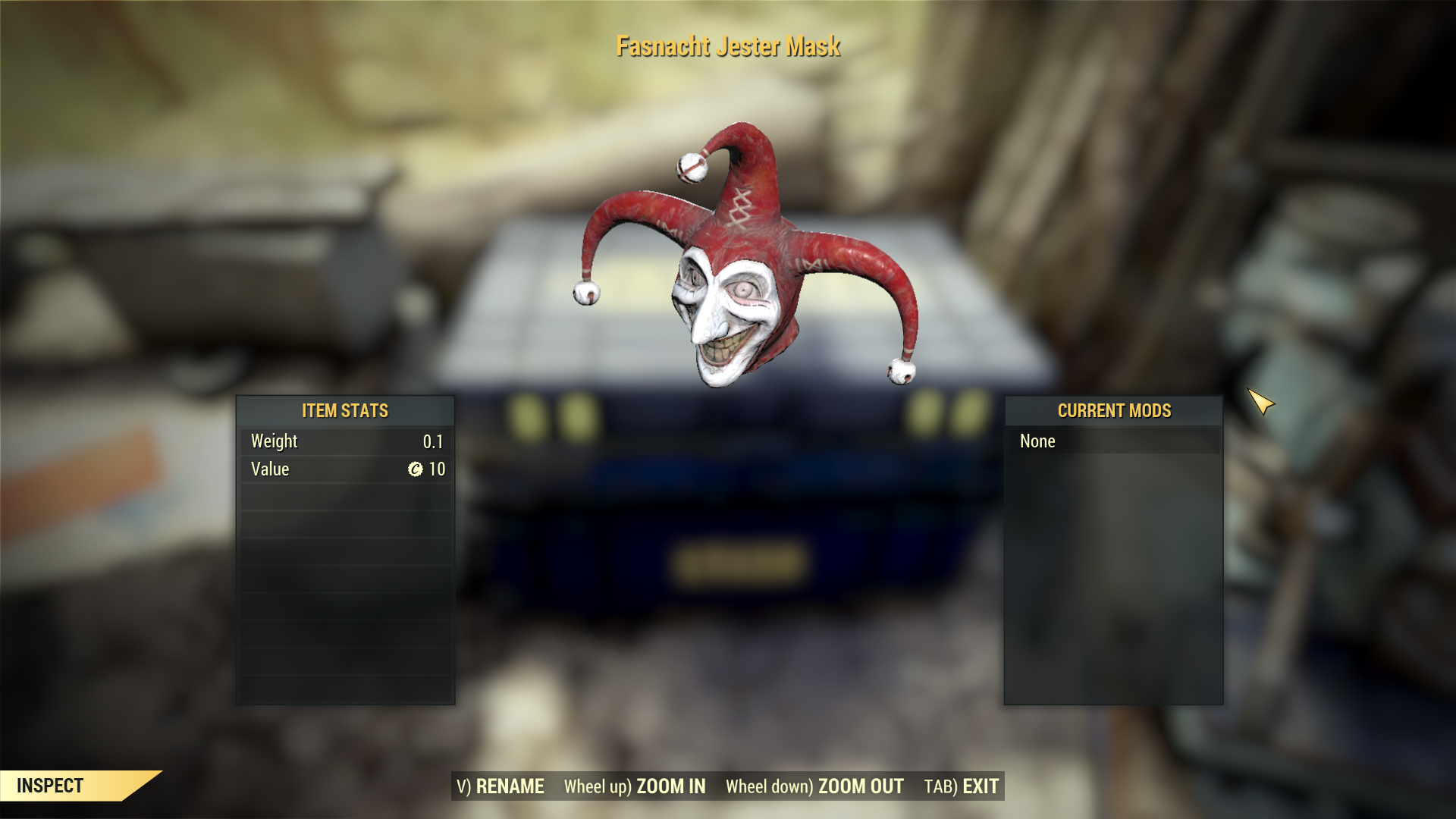 [Rare outfit] Fasnacht Jester Mask