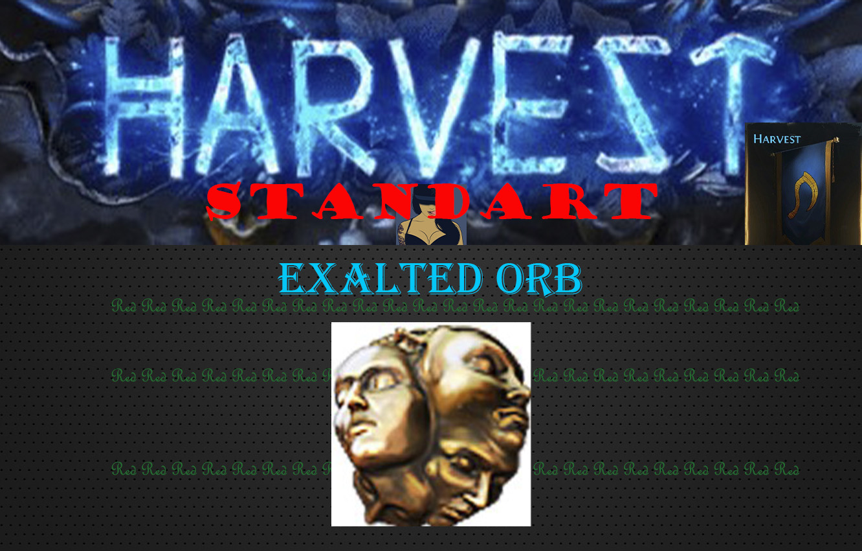 Exalted Orb (Harvest Standart) (PC)