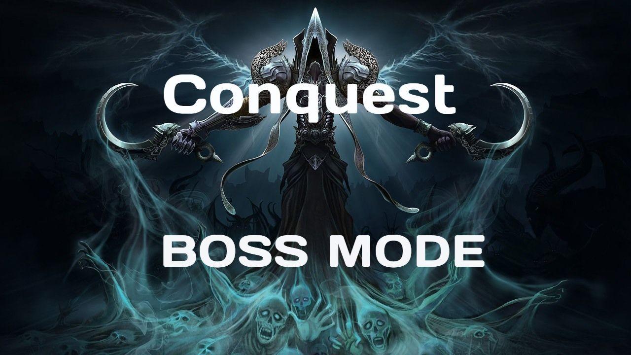 Season 16 EU. Conquest - Boss Mode