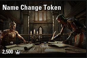 Name Change Token [NA-PC]