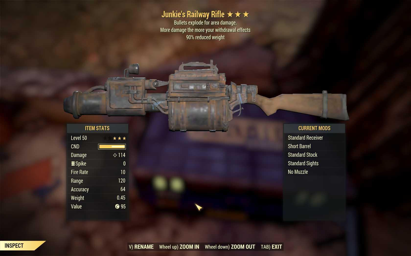 [3 Stars]Junkie's+Explosive Railway+90% reduced weight
