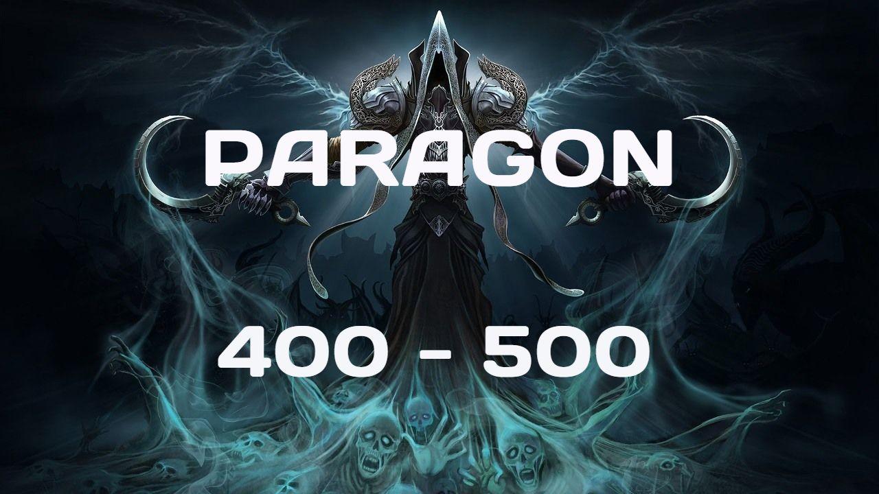 Season 16 EU. Paragon Leveling 400-500
