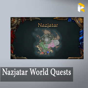 Nazjatar World Quests