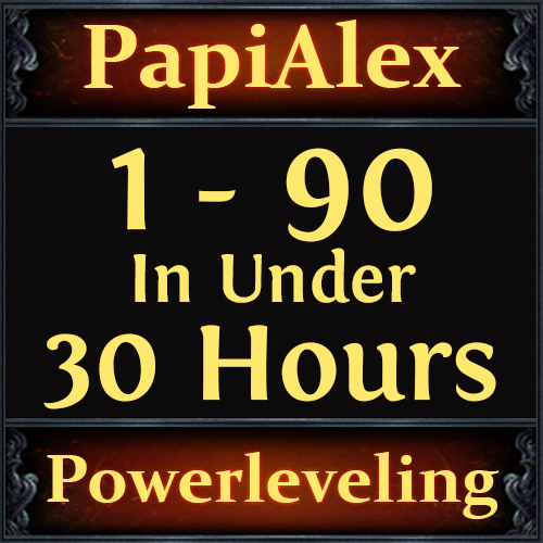 [PC] Veteran PoE Player offering Premium Powerleveling Service [ Level 1 - 90, in under 30 Hours )