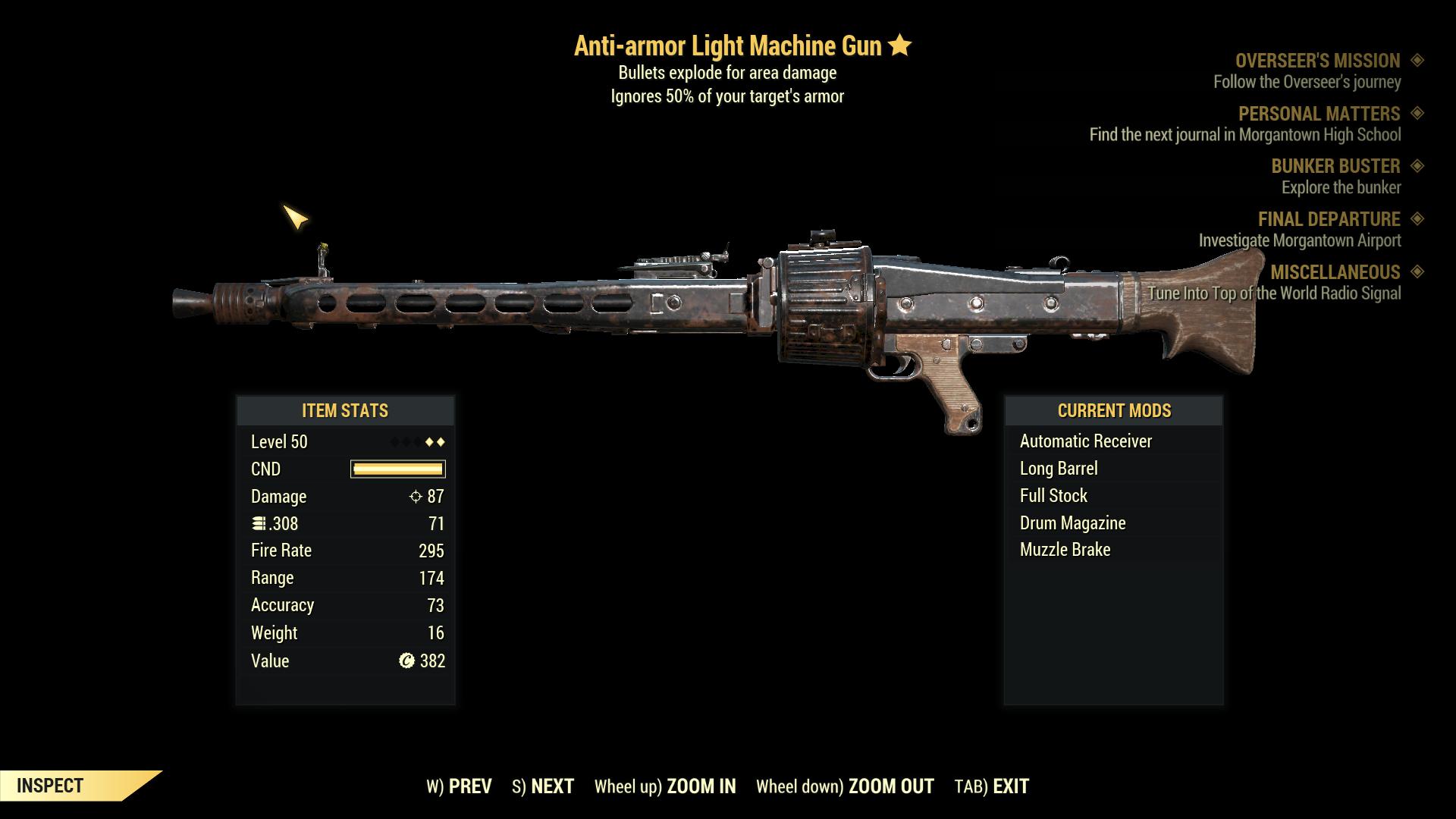 ★★ Anti-Armor Explosive Light Machine Gun [MG42]   FAST   STRESS FREE   CHEAP   MAX LVL  