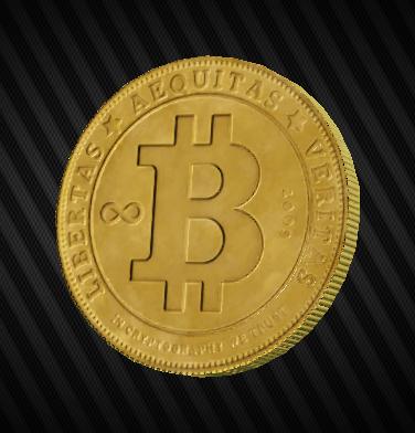 10 Physical Bitcoins/ BTC