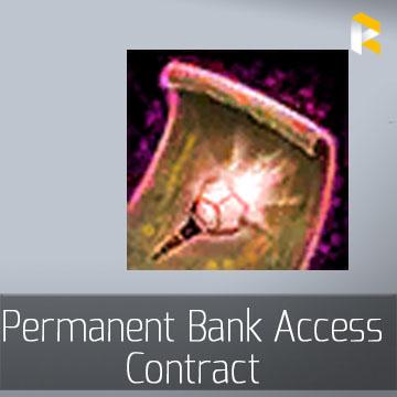 Permanent Bank Access Contract - EU & US servers
