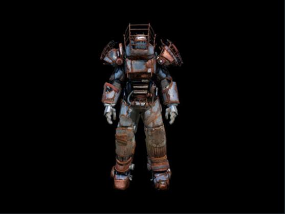 Raider power armor set - Level 15