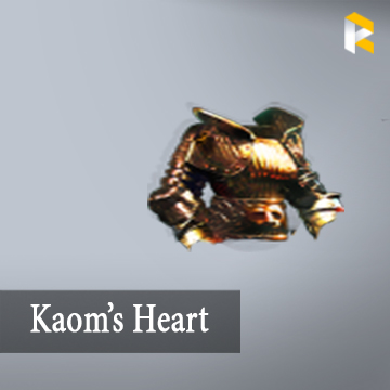 Kaom's Heart - no socket >35% fire damage