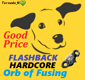 Orb of fusing - Synthesis FLASHBACK Hardcore - FAST Delivery
