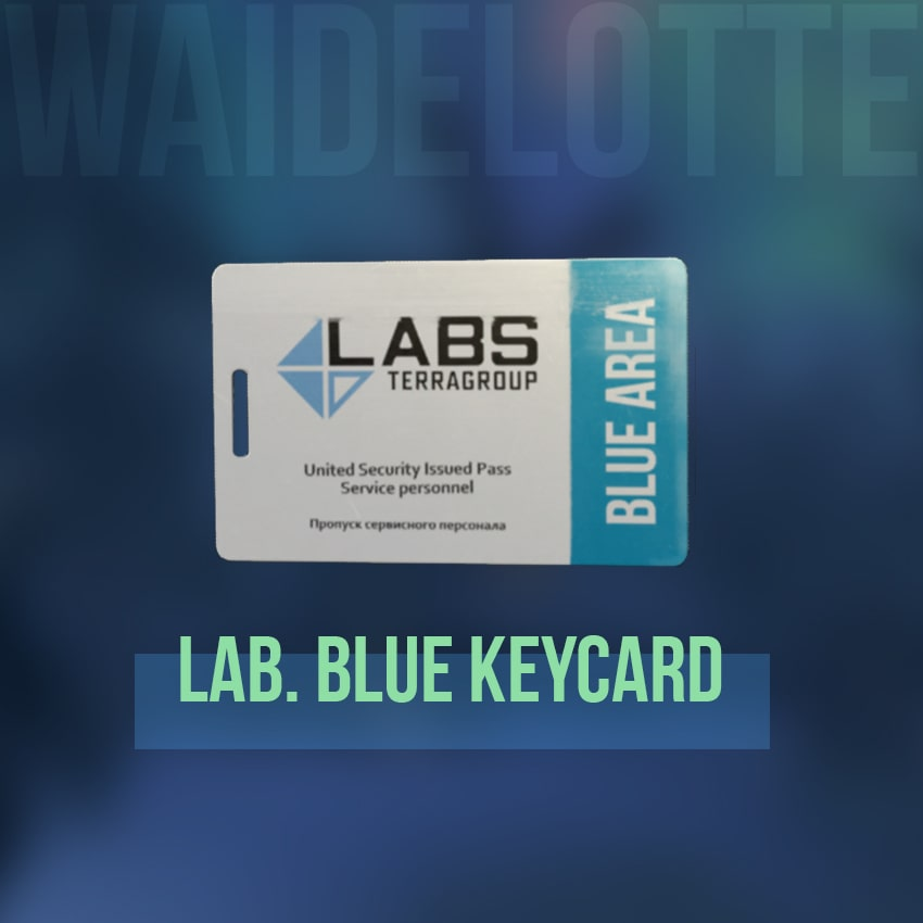 ⭐️ EFT - Lab Blue keycard [Cheap and Fast delivery]. 24/7 Instant Delivery