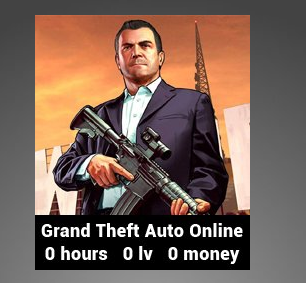 GTA 5 acc - Fresh (0 hours) (Steam Account) {Fast Delivery}