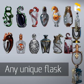 Any unique flask - read description