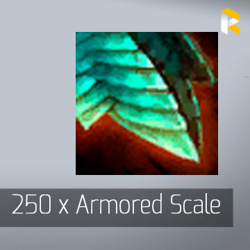 250 x Armored Scale - Guild Wars 2 EU & US All Servers - fast & safe