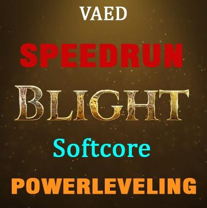 1-90 Blight Softcore - Handmade speedrun - any build + labs. Best runtime.