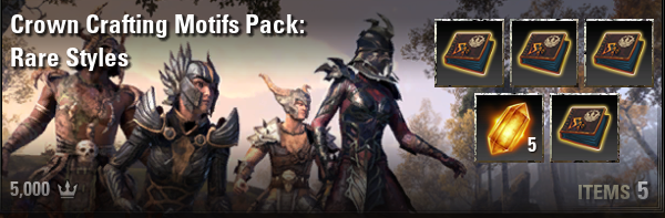 Crown Crafting Motifs Pack: Rare Styles [NA-PC]