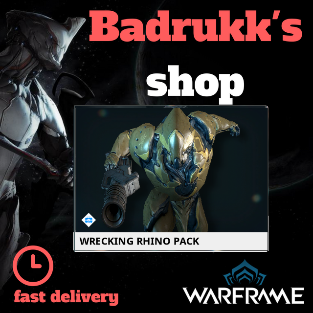 [PC/Steam] Wrecking rhino pack // Fast delivery!