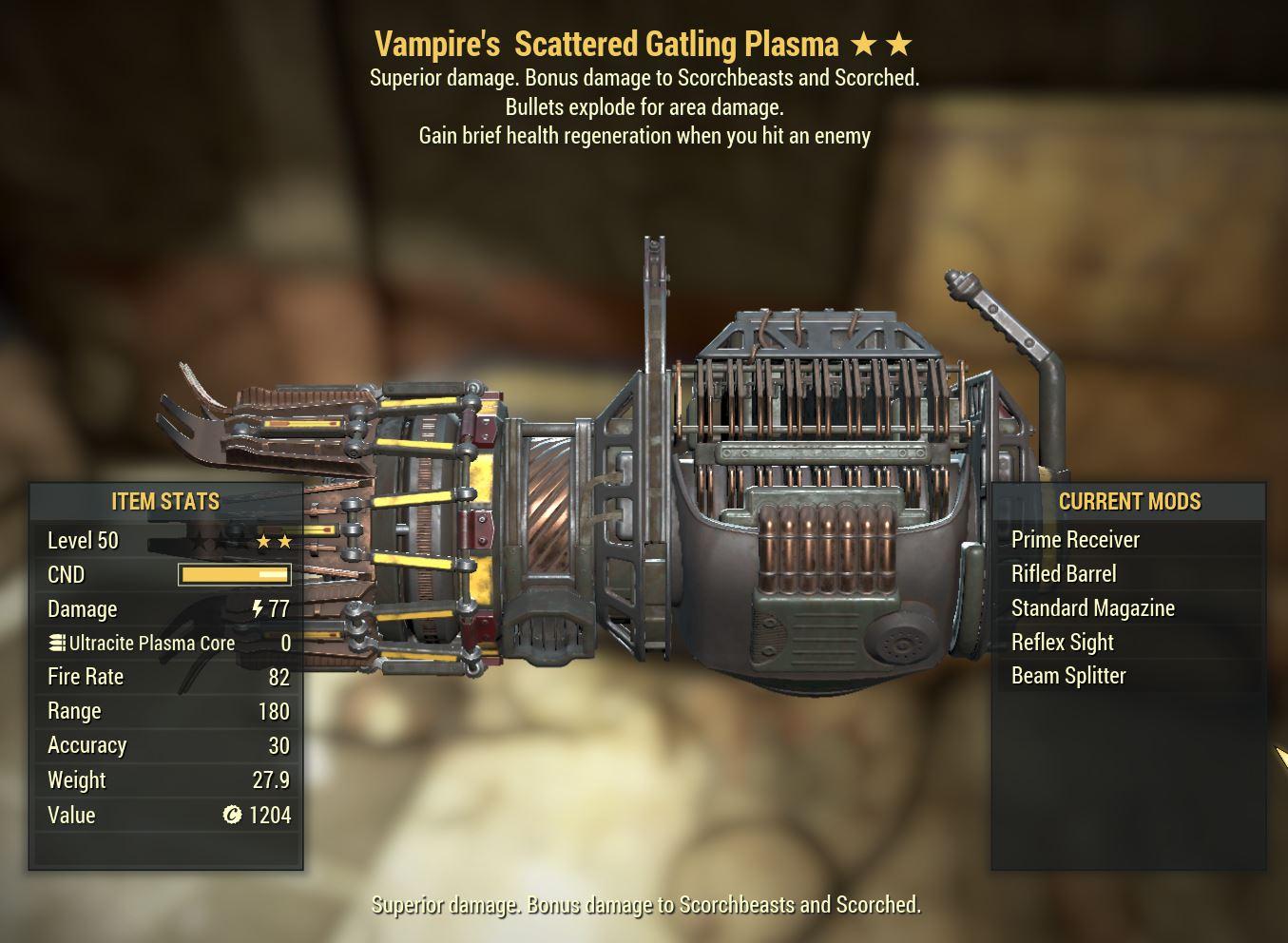 Gatling Plasma VE