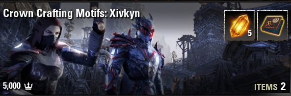 Crown Crafting Motif: Xivkyn [NA-PC]