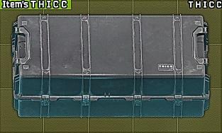 T H I C C Items case / THICC Items case / Кейс для вещей / Вещевой кейс