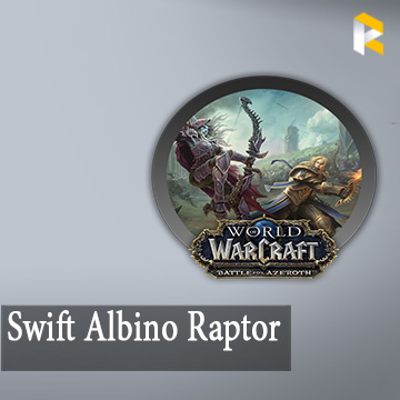 Swift Albino Raptor