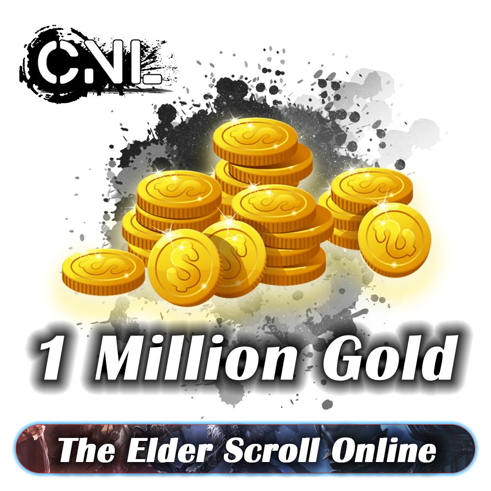 [ PC - EU ] - The Elder Scrolls Online / TESO Gold ( Pls min order 1M )
