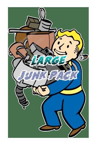 Large junk pack [35.000 each junk + 10.000 each flux]