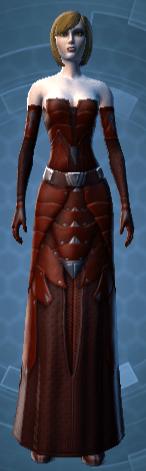 Sensuous Dress Armor Set