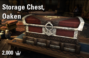 Storage Chest, Oaken [NA-PC]