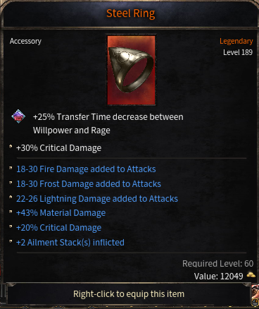 Triple Damage Rolls Ring, the best of the whole server