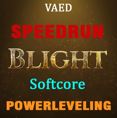 1-90 Blight Softcore - Handmade speedrun - any build + labs. Best runtime.