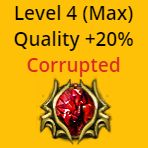 Empower Support (Level 4 Quality 20%) - Corrupted - Betrayal Softcore