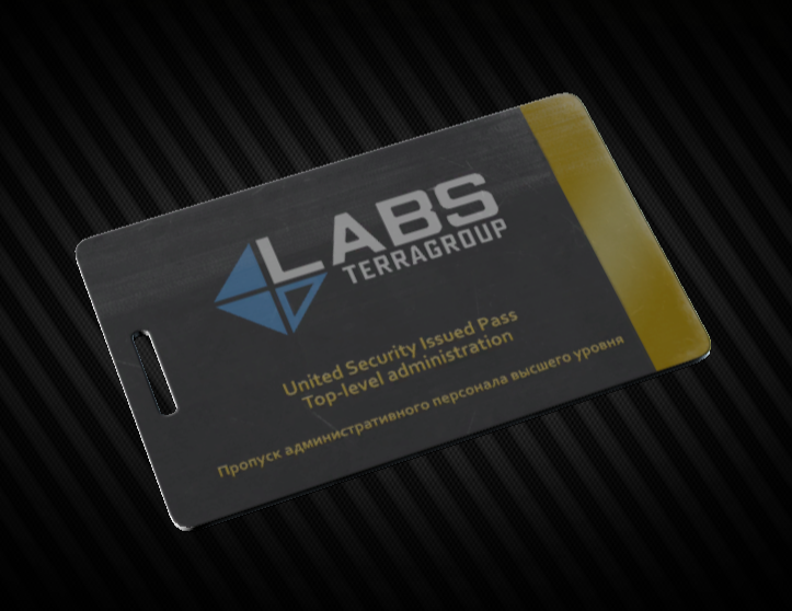 Lab. Black keycard Instant delivery
