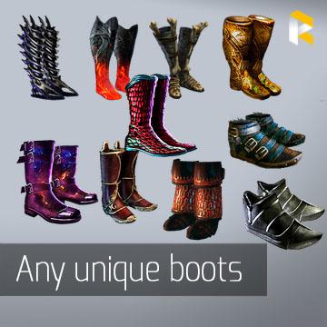 Any unique boots - read description