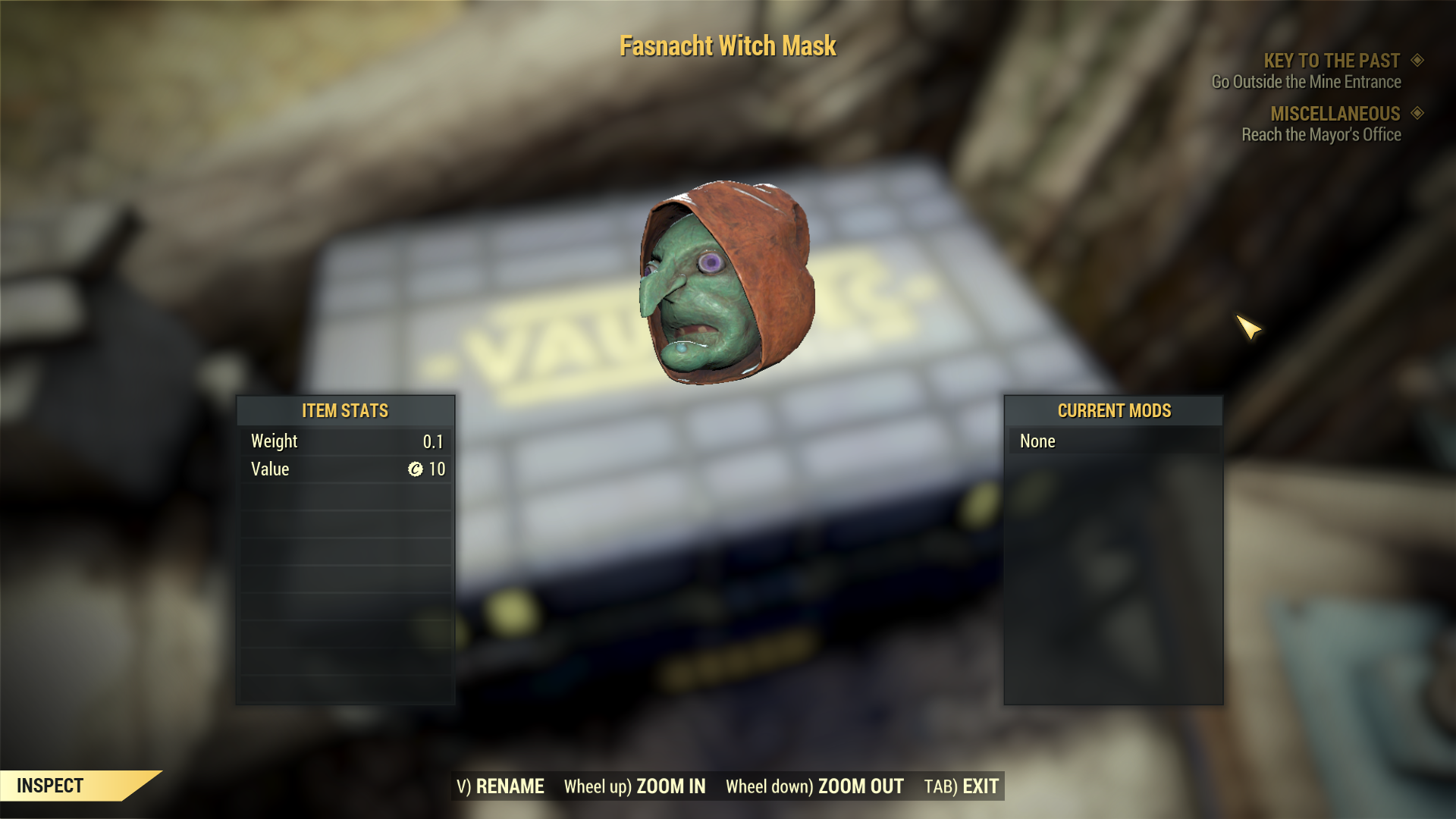 [Rare outfit] Fasnacht Witch Mask