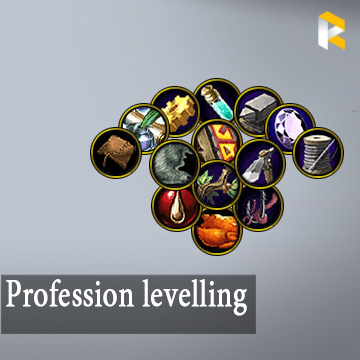 Profession levelling