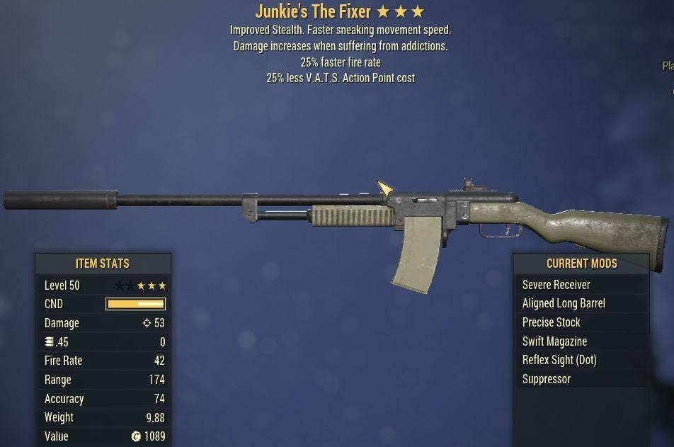 [PC] Junkie's The Fixer [25FFR | 25% Less Vats AP]