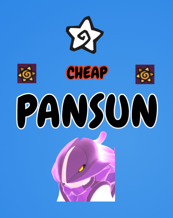 Cheapest Pansun Quick Delivery. Purchase over 1mil Pansun for Bonus 50k