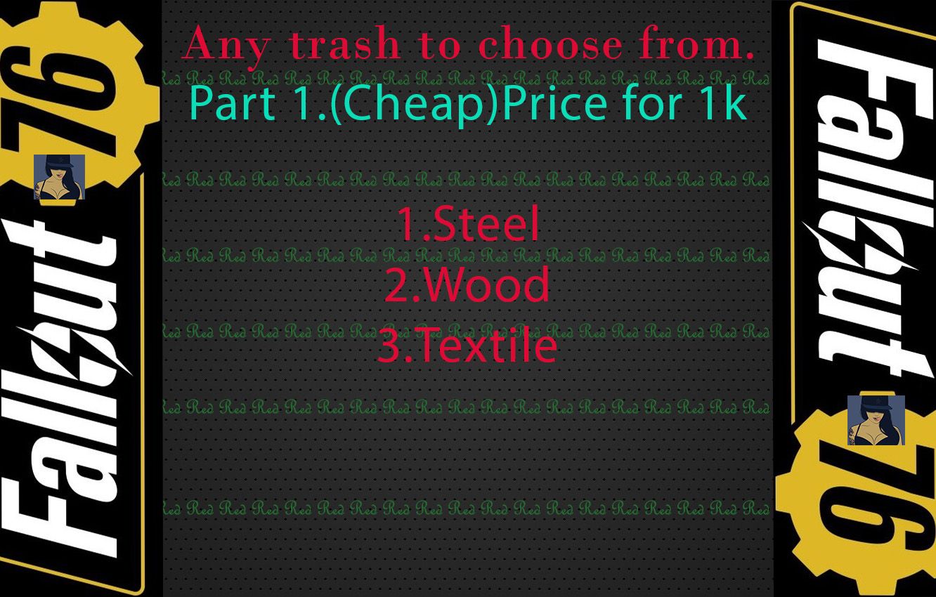 Materials: Wood / Steel / Textile. Price for 1k Any