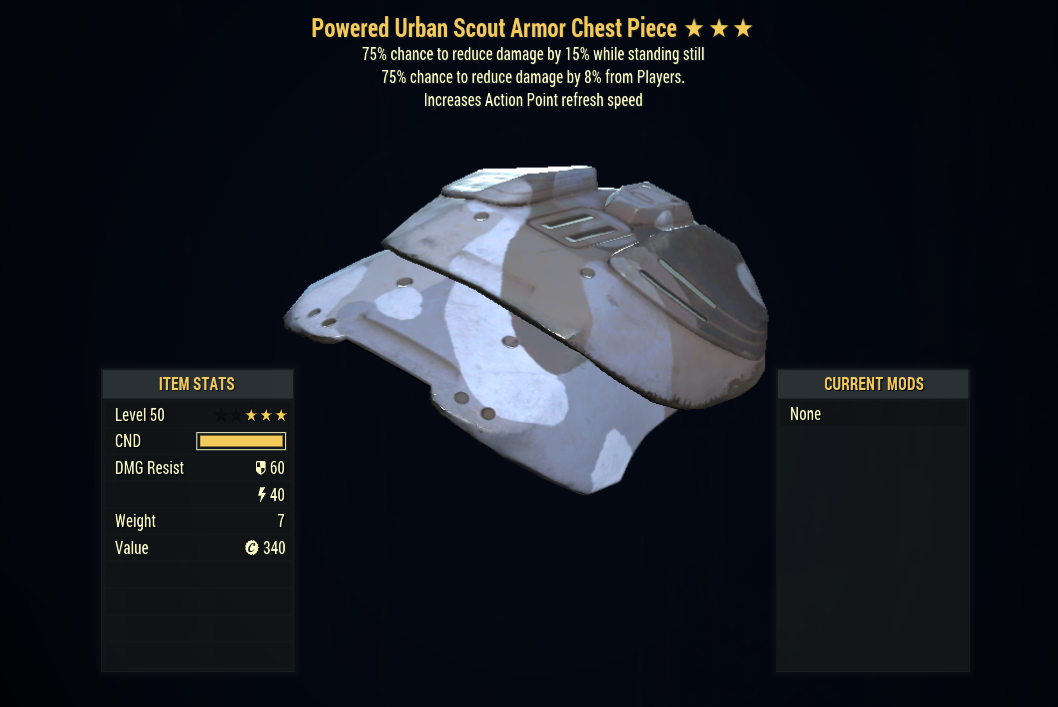 [PC] Assassins Sentinels Armor FULL SET + MASK (Urban Scout, 5/5 AP)